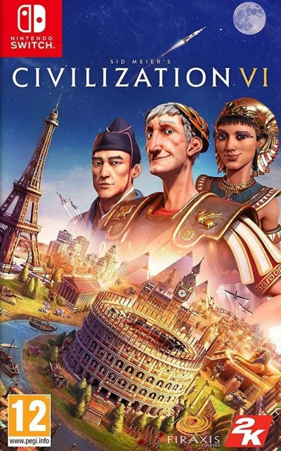 Sid Meier's Civilization VI (SWITCH) - okladka