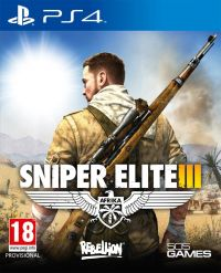 Sniper Elite 3: Afrika (PS4) - okladka