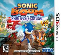Sonic Boom: Shattered Crystal (3DS) - okladka
