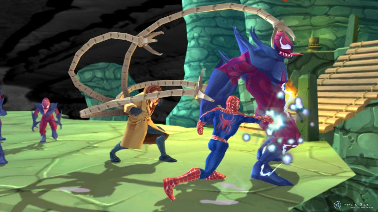 recenzja spiderman friend or foe ps2 miastogierpl