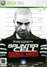 Tom Clancy's Splinter Cell: Double Agent (Xbox 360) - okladka