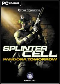 Tom Clancy's Splinter Cell: Pandora Tomorrow (PC) - okladka