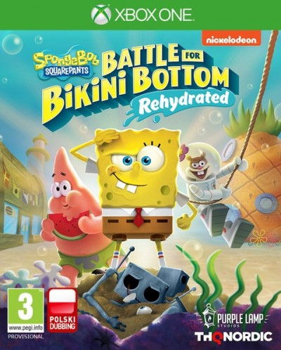 SpongeBob SquarePants: Battle for Bikini Bottom - Rehydrated (Xbox One) - okladka