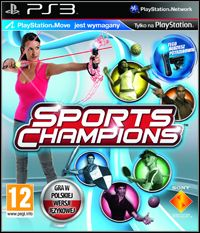Sports Champions (PS3) - okladka