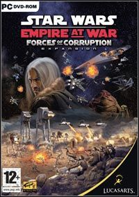 Star Wars Empire at War: Forces of Corruption (PC) - okladka