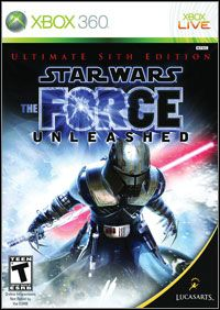 Star Wars: The Force Unleashed - Ultimate Sith Edition (Xbox 360) - okladka