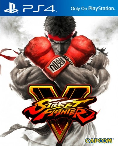 Street Fighter V (PS4) - okladka