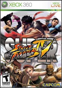 Super Street Fighter IV (X360) - okladka