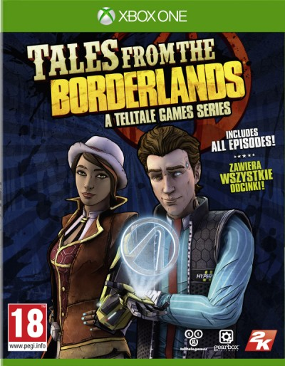 Tales from the Borderlands (Xbox One) - okladka