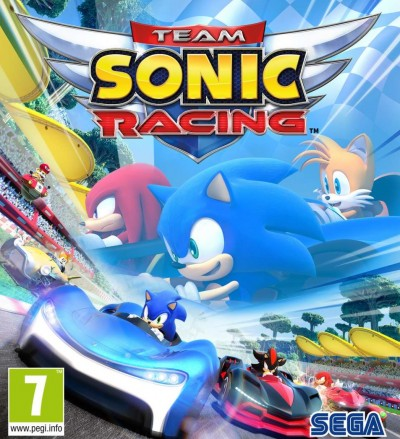 Team Sonic Racing (XBOXONE) - okladka