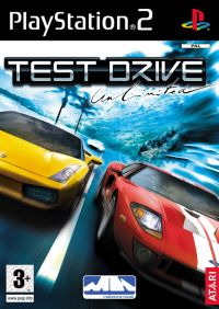 Test Drive Unlimited (PS2) - okladka