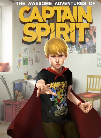 The Awesome Adventures of Captain Spirit (PS4) - okladka