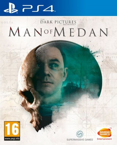 The Dark Pictures: Man of Medan (PS4) - okladka
