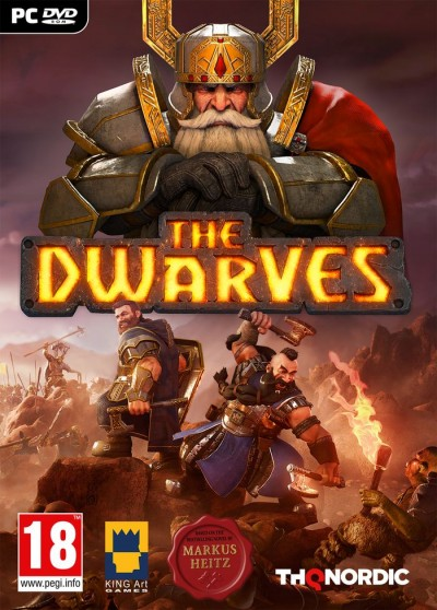 The Dwarves (PC) - okladka