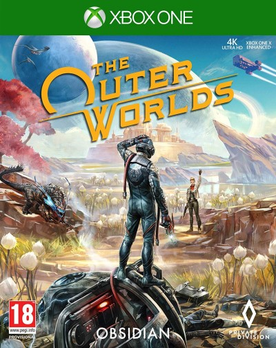 The Outer Worlds (XBOXONE) - okladka