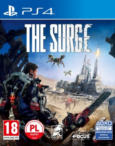 The Surge (PS4) - okladka