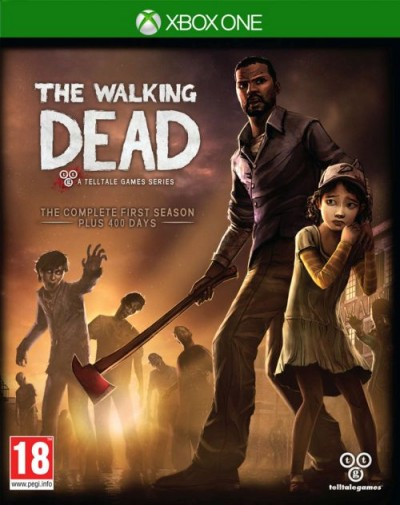 The Walking Dead: A Telltale Games Series (XBOXONE) - okladka
