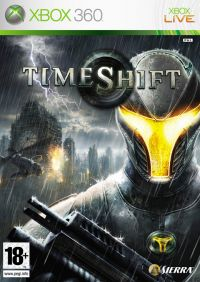 TimeShift (X360) - okladka