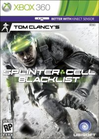 Tom Clancy's Splinter Cell: Blacklist (Xbox 360) - okladka
