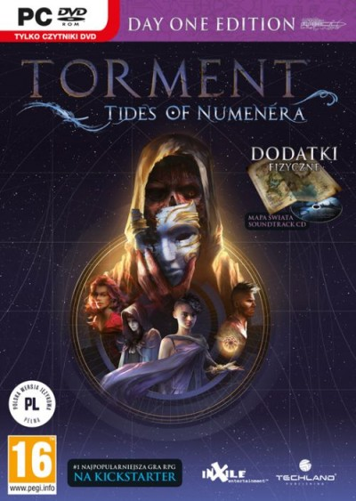 Torment: Tides of Numenera (PC) - okladka