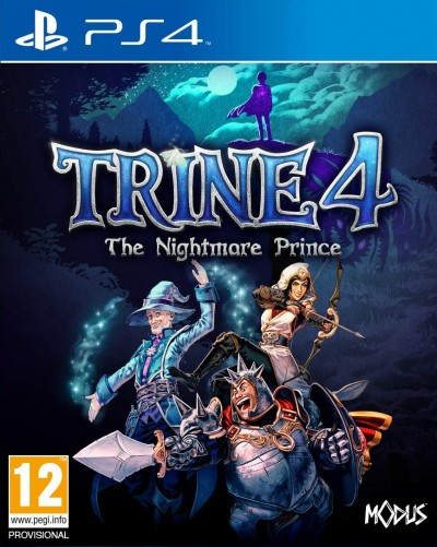 Trine 4: The Nightmare Prince (PS4) - okladka