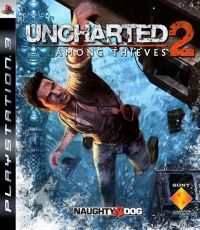 Uncharted 2: Among Thieves (PS3) - okladka