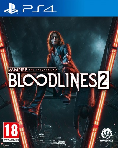 Vampire: The Masquerade - Bloodlines 2 (PS4) - okladka