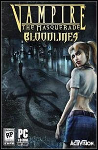 Vampire The Masquerade: Bloodlines (PC) - okladka