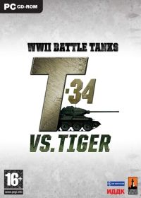 WWII Battle Tanks: T-34 vs. Tiger (PC) - okladka