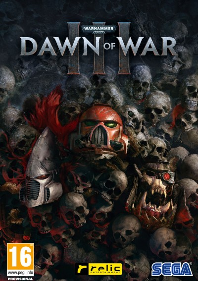 Warhammer 40 000: Dawn of War III (PC) - okladka