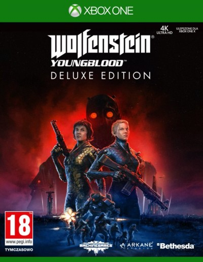 Wolfenstein: Youngblood (Xbox One) - okladka