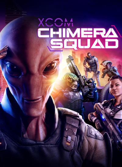 XCOM: Chimera Squad (PC) - okladka
