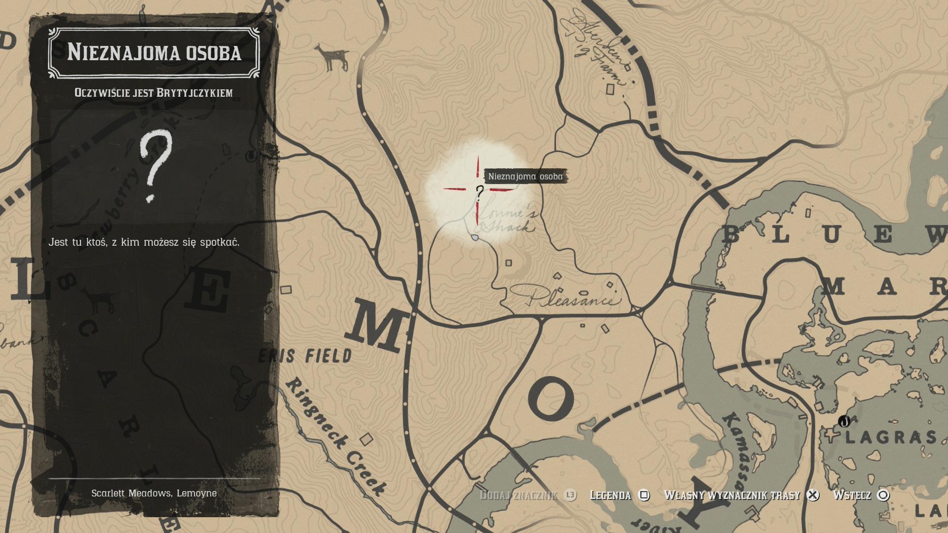 bfa9f043454f83 W zaznaczonym obszarze znajdziesz zniszczony wóz cyrkowy, będzie na nim  siedział mężczyzna przebrany za kobietę, Margaret, a zbliżenie się do niego  ...